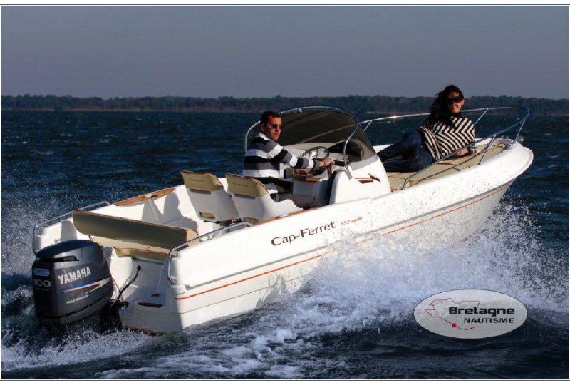 B2 Marine 552 open Bretagne nautisme