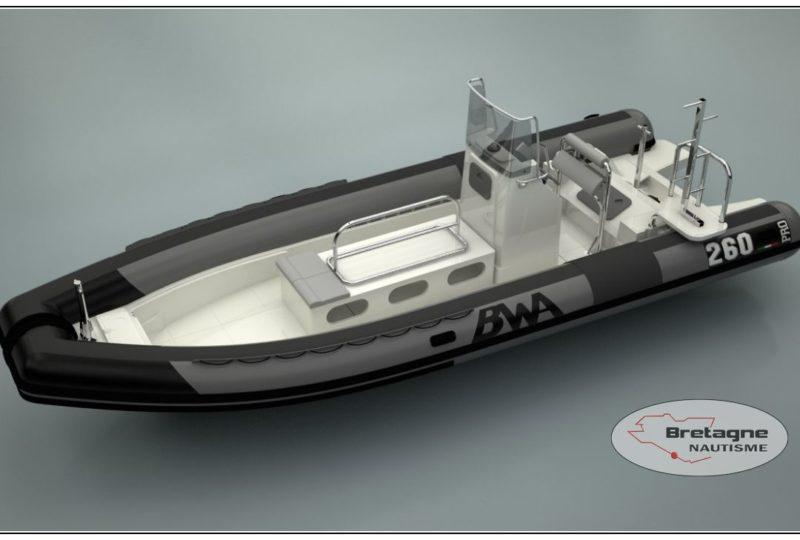 Bwa 260 SUPER PRO Bretagne nautisme