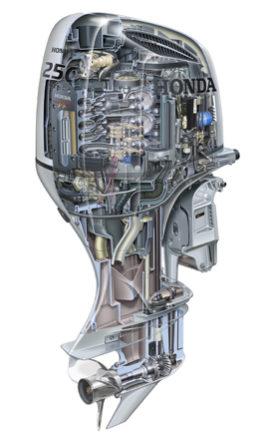 Honda BF 250 cv XU-3